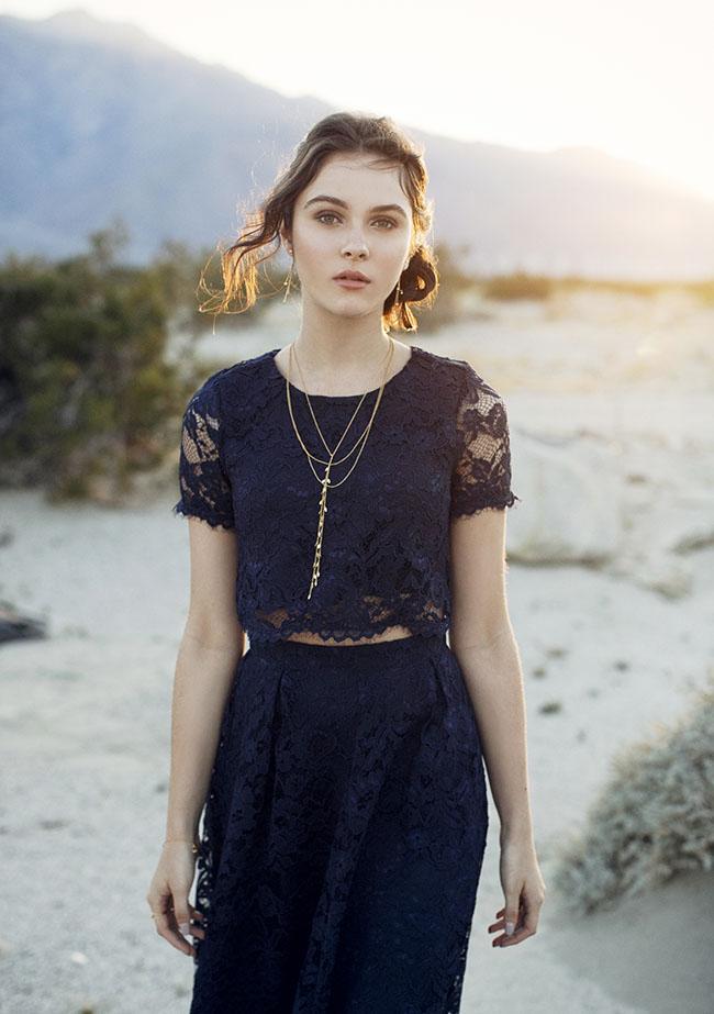 GWS x Gorjana Jewelry Collection and Reformation Dress
