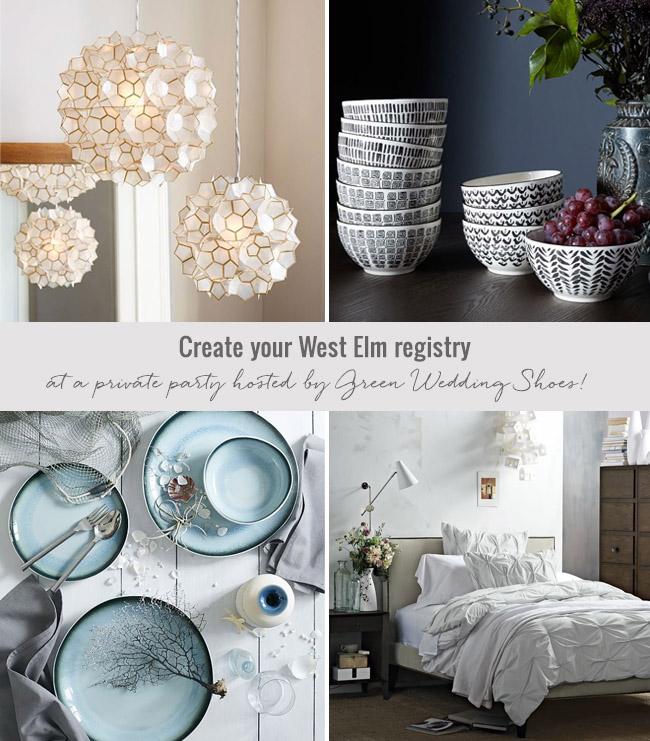 Create your West Elm Registry