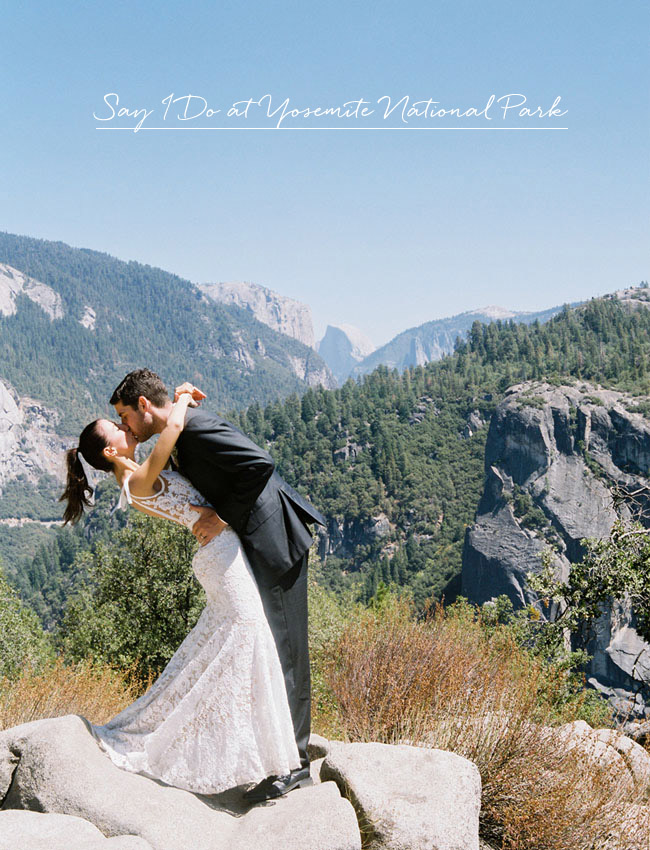 Yosemite National Park For Your Wedding