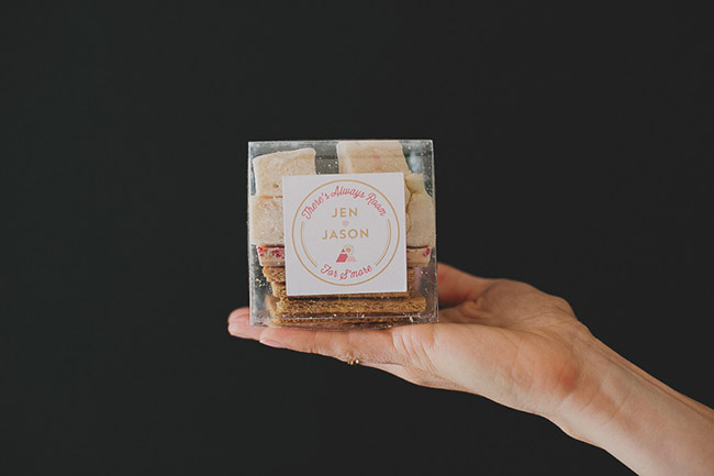 Smores for your wedding favors