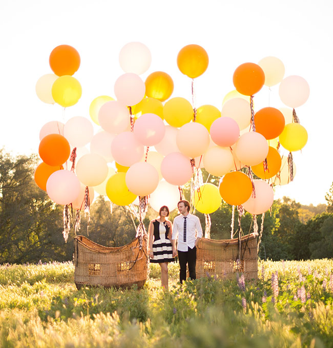 Vintage hot air balloon wedding inspiration green wedding shoes weddings fashion lifestyle