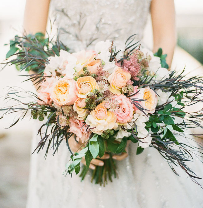 soft pink bouquet