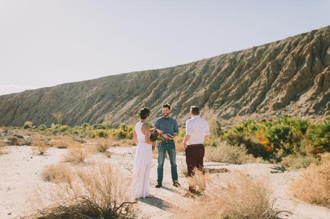 Desert Oasis Elopement