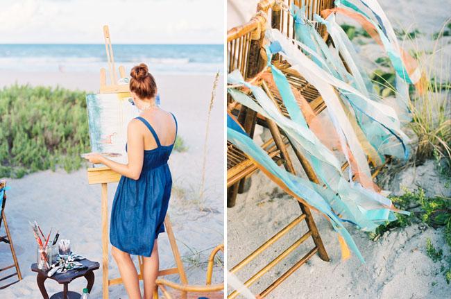 ribbon chair decor