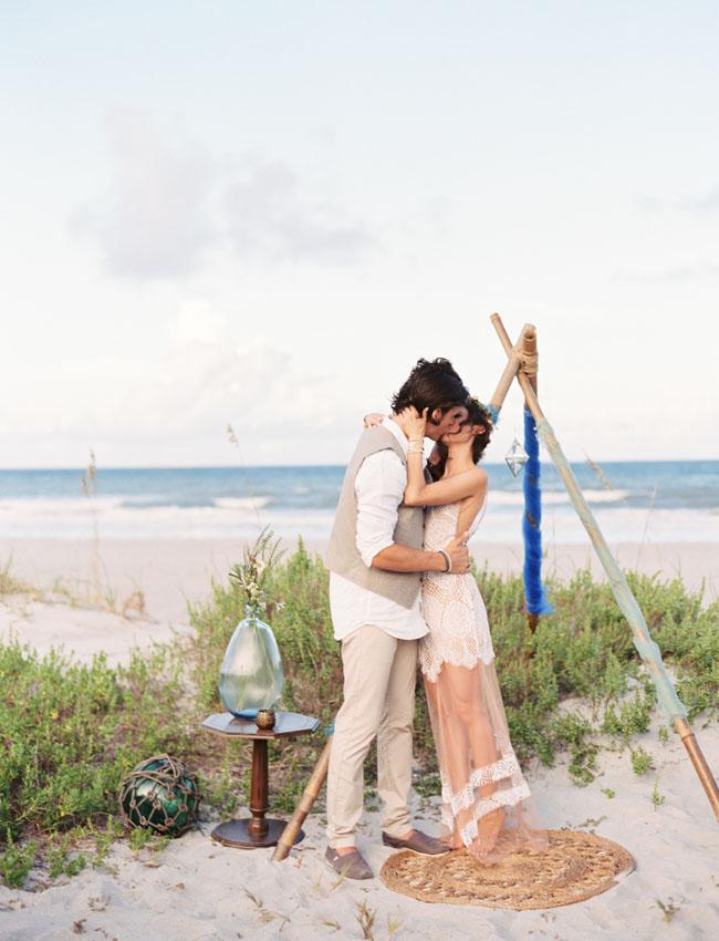 Eclectic destination beach wedding mica gavin green wedding shoes eclectic beach wedding junglespirit Gallery