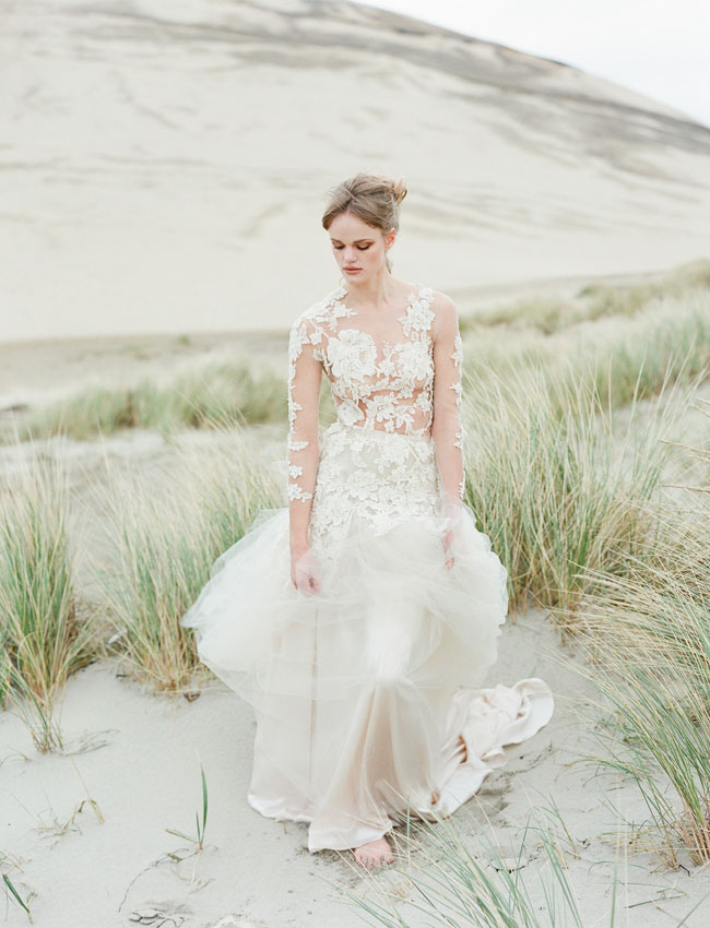 Emily Rose Riggs lace gown