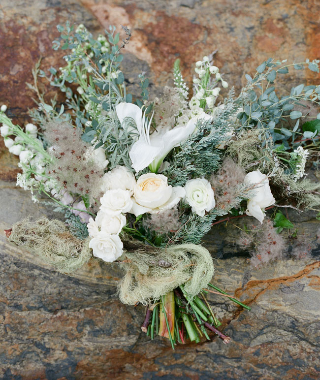loose boho bouquet