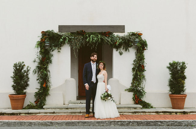 Foggy Florida Wedding