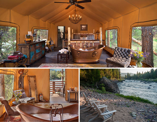 Glamping Honey at The Resort at Paws Up