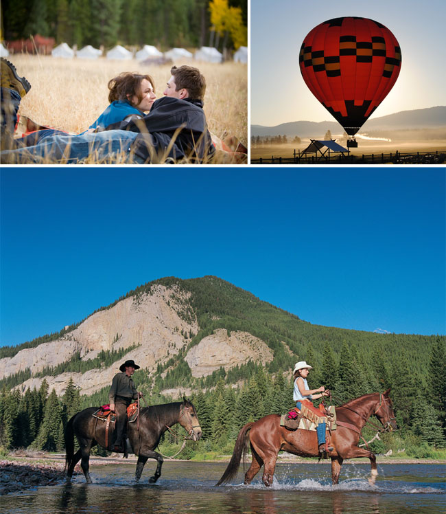 The Resort at Paws Up Montana Honeymoon