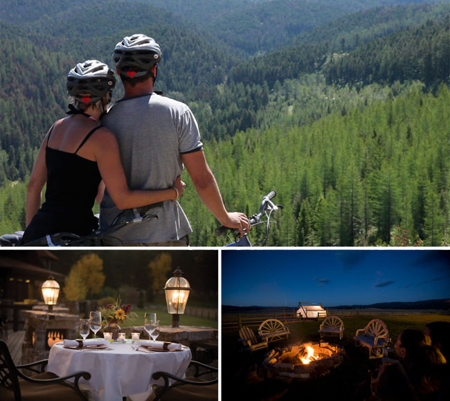 The Resort at Paws Up Montana Honeymoon