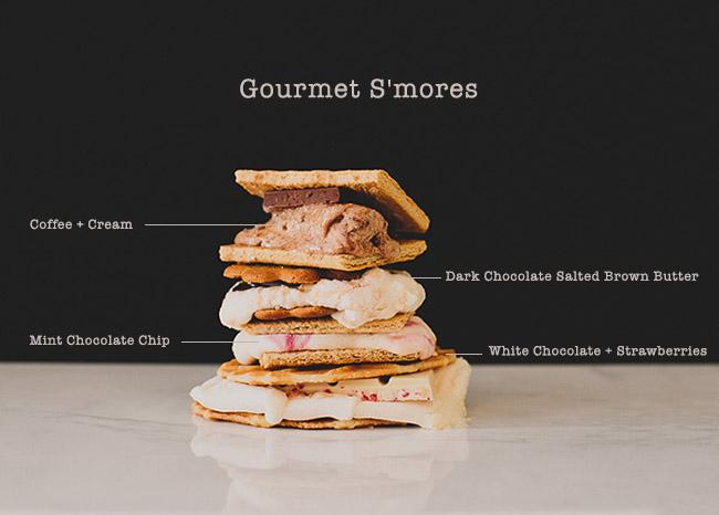 gourmet smores