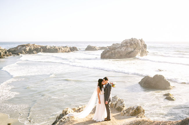 Intimate Big Sur Wedding with a fun Ohio Reception: Alex + Josh