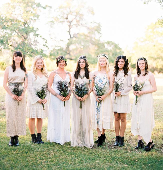 Wedding Dresses Texas 19 Unique boho texas bridesmaids