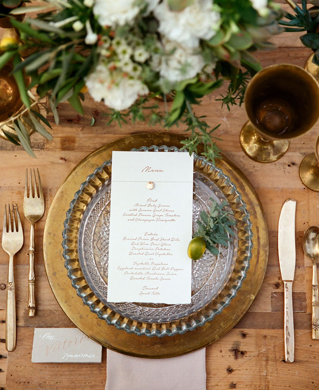moroccan tablescape