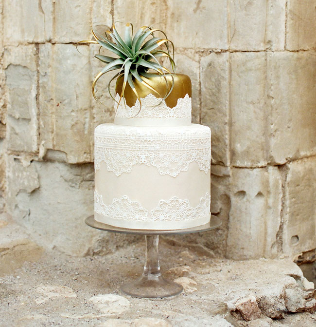 moroccan gold cake
