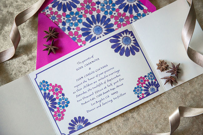moroccan invitation