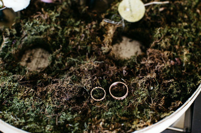 rings on moss