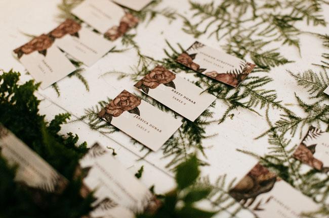 fern escort cards