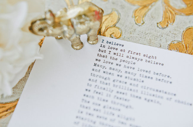 typed vows
