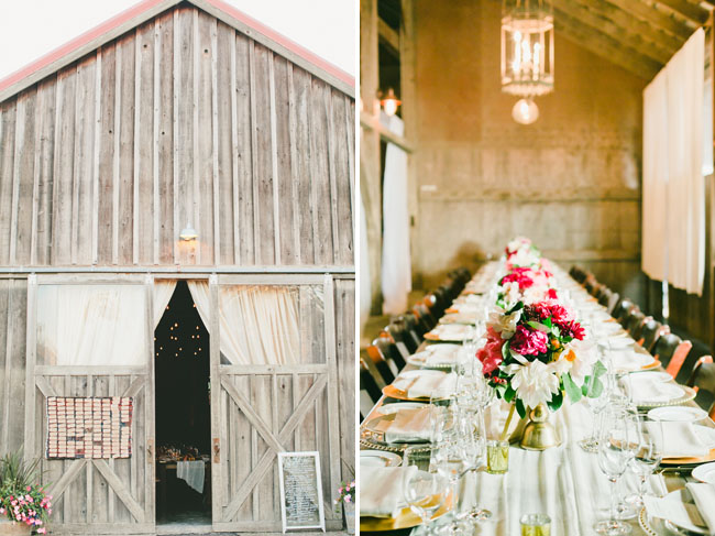 barn reception