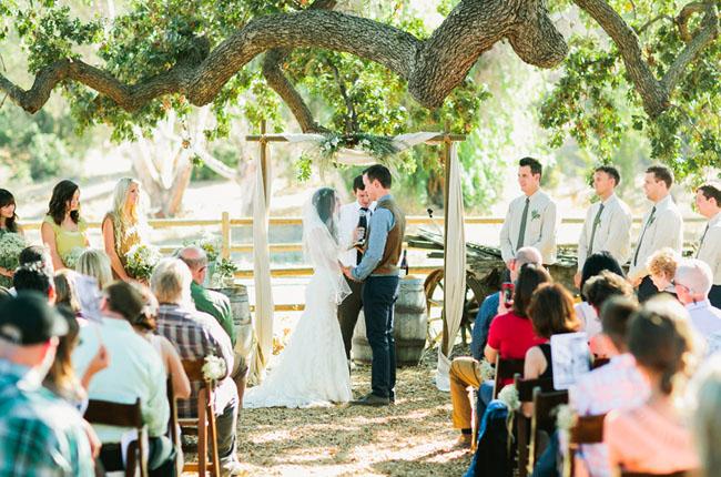 Paramount Ranch Ceremony