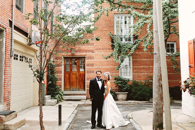 Backyard Pennsylvania Wedding