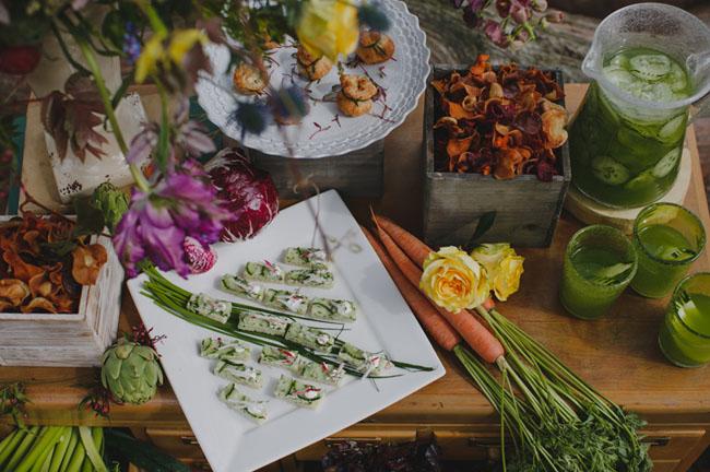 appetizer veggie bar