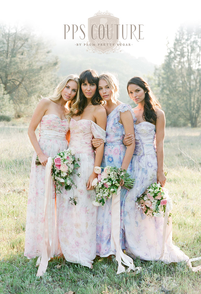 PPS Couture Bridesmaid Dresses By Plum Pretty Sugar | Green ...
