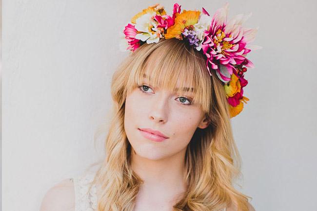 DIY  Spring Flower Crown 135917836a9