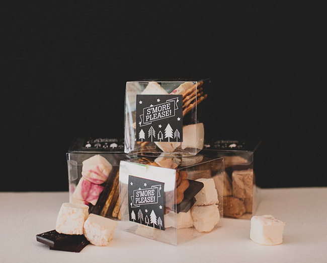 gourmet smores for your wedding