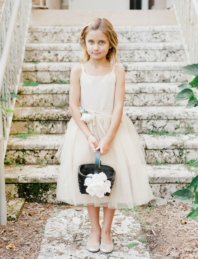 Spanish Villa Flower Girl