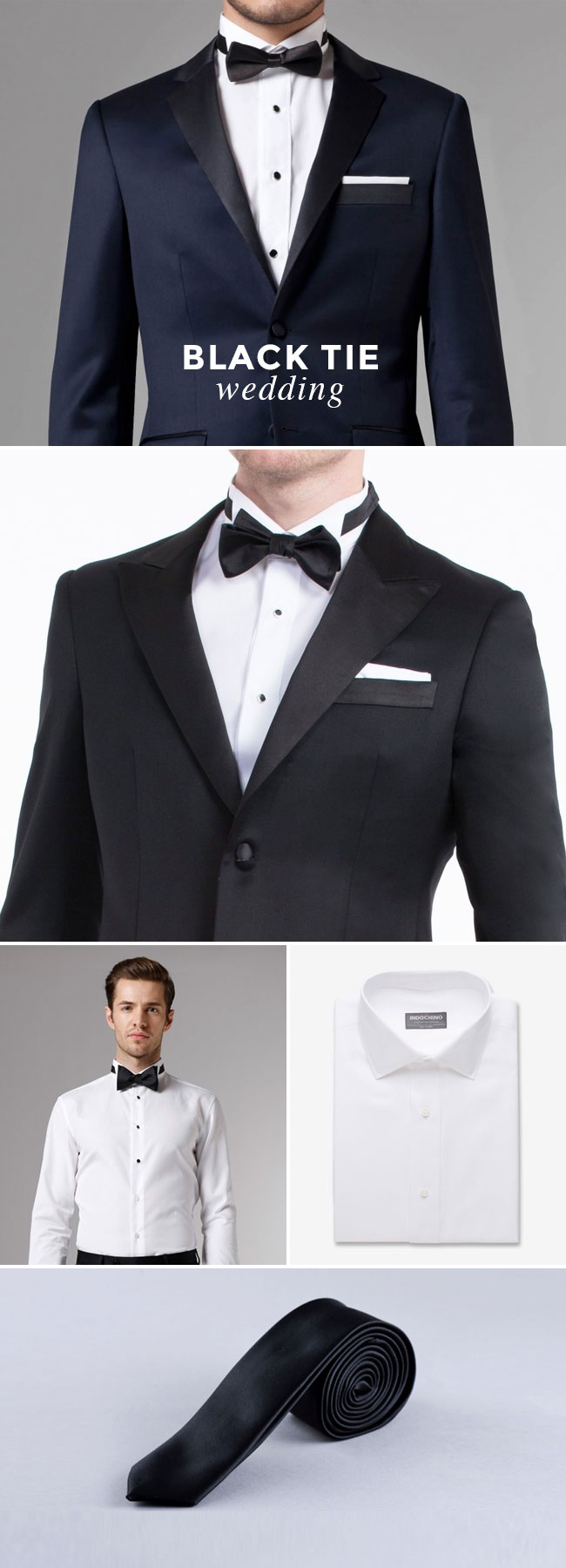What to Wear to A Wedding - Guy Edition - Black Tie Wedding