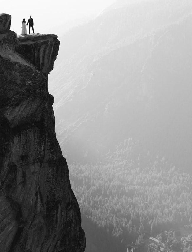 Yosemite wedding portraits