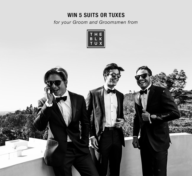 Win tuxes for your wedding