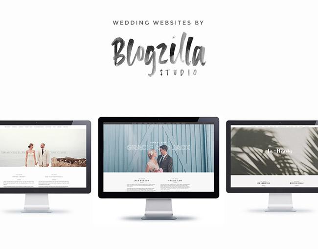 blogzilla wedding websites