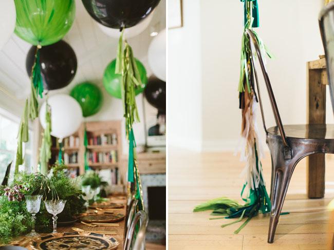Geronimo Tassel Balloons