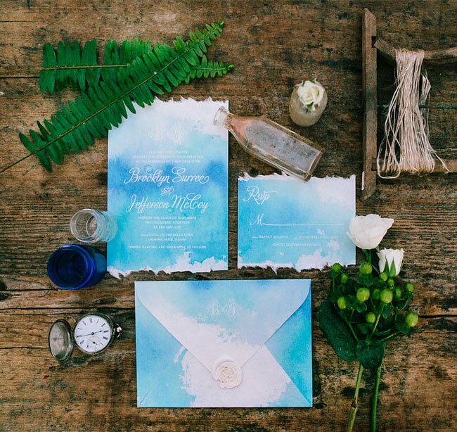 Ethereal Sailboat Invitation