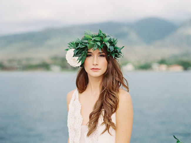 greenery crown