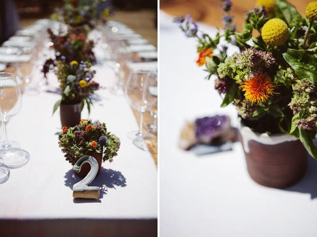 farmhouse table centerpieces