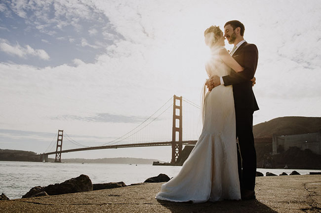 Golden Gate Bridge Wedding