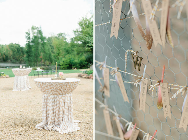 chevron sequin tablecloth