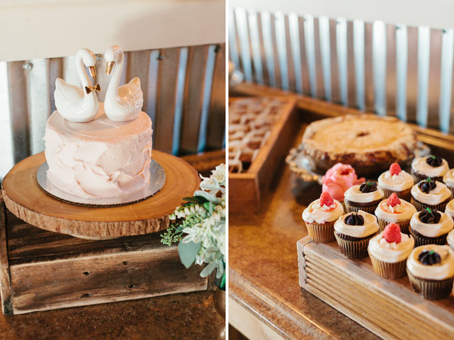 swan cake topper