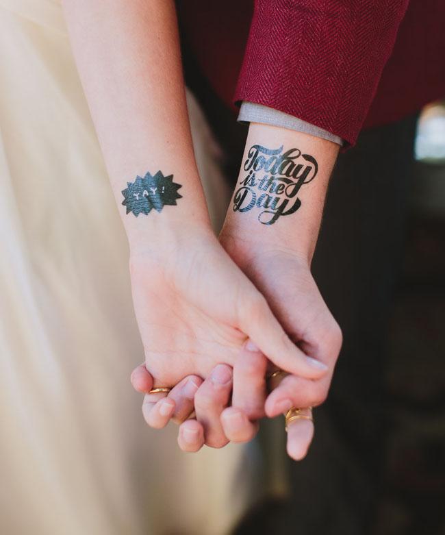 wedding tats