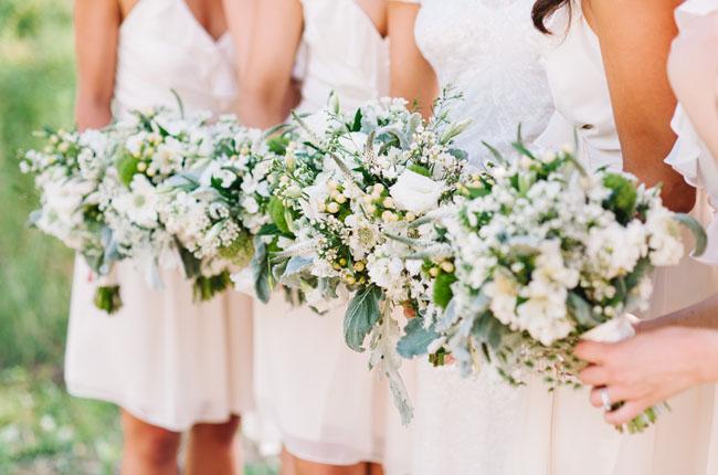 cotton bouquets