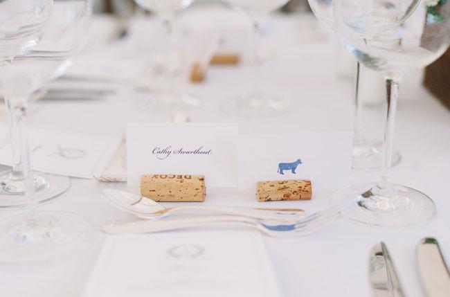 wine cork name holders