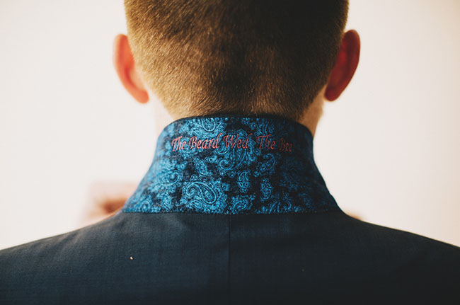 embroidered suit