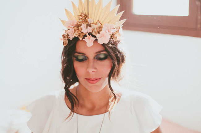 flower tiara crown