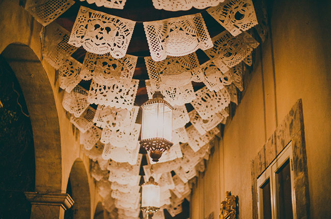papel picado garlands