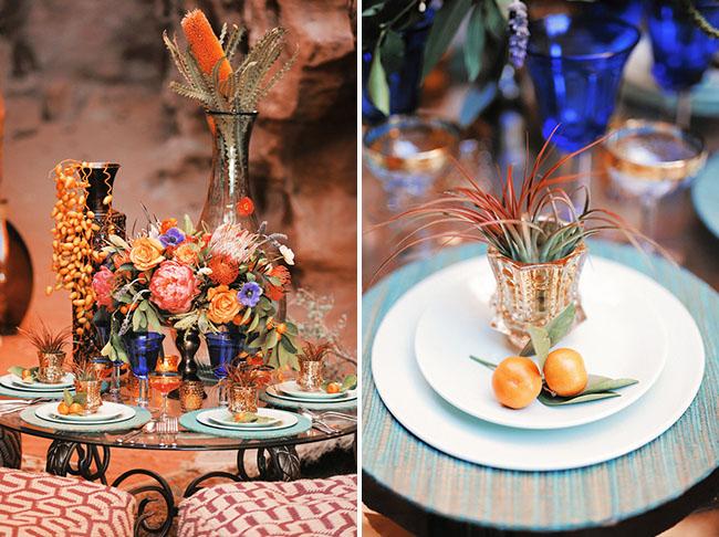 fruit table setting